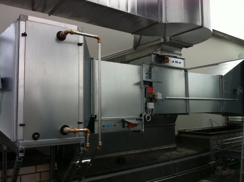 Wassererwärmung mit Kompressorabluft