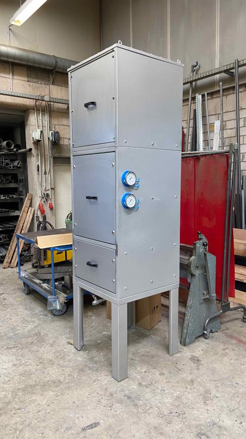 Filteranlage in Edelstahl